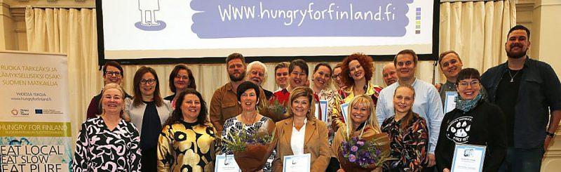 Hungry For Finland Tuotteistamisen teemapäivä 19.9 ja Ruokamatkailukilpailun voittajat